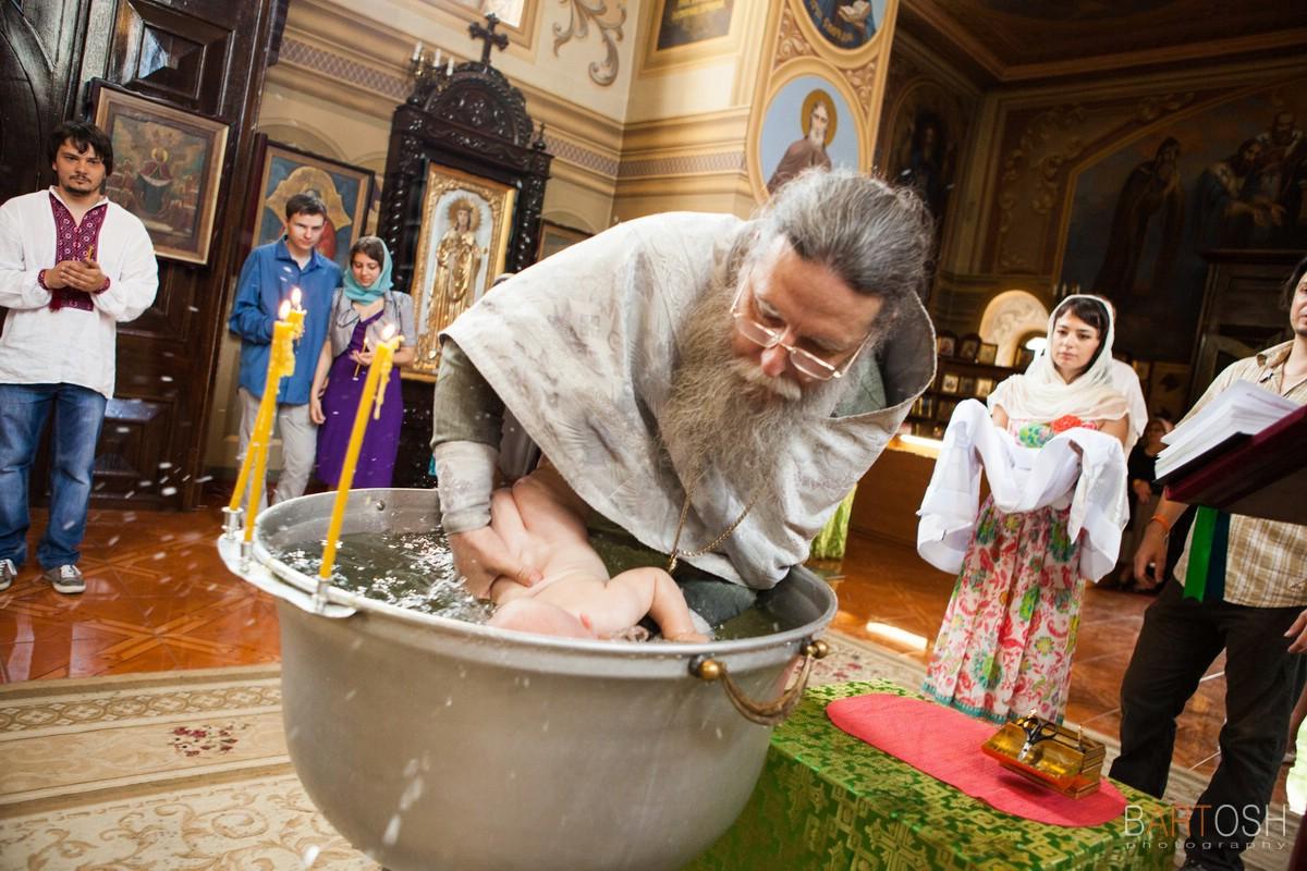 Детская фотосъемка Киев. Крестины