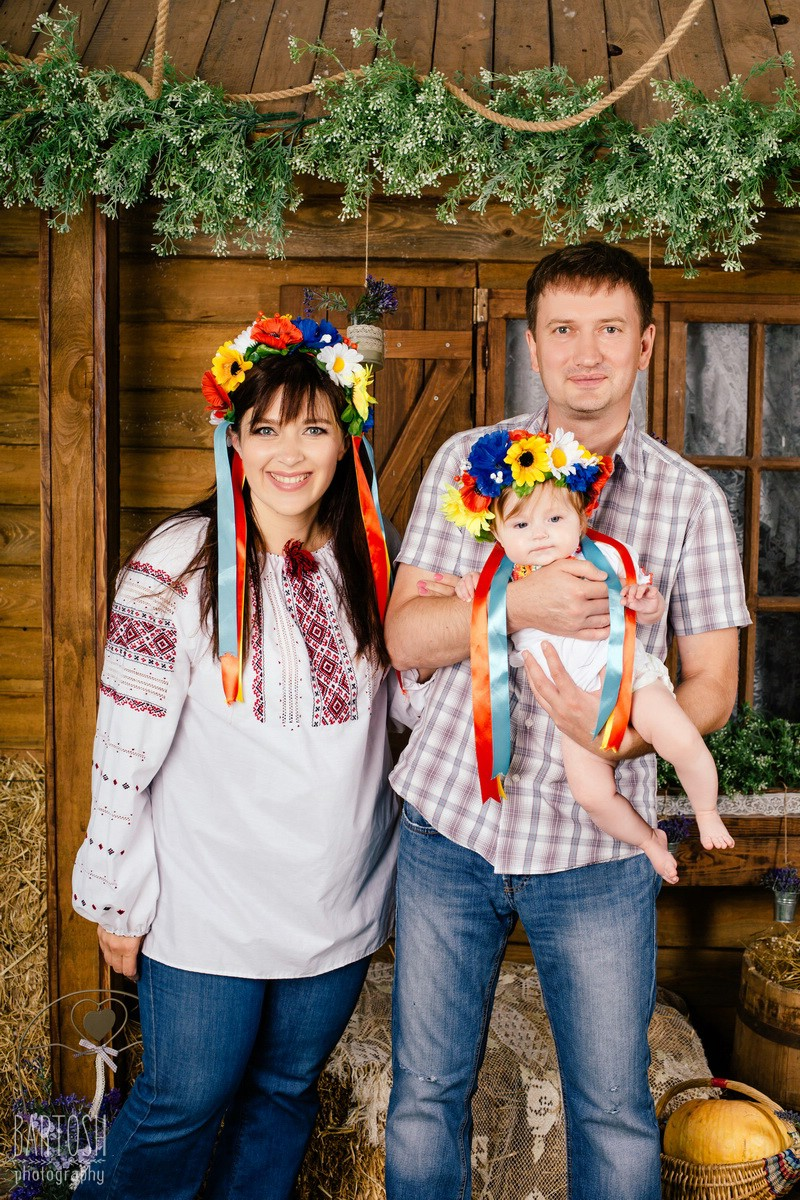 Детская и семейная фотосъемка в студии Киева. Профессиональный фотограф