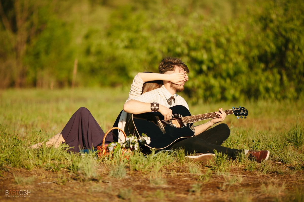 Фотосъемка истории любви. Предсвадебная съемка в Киеве