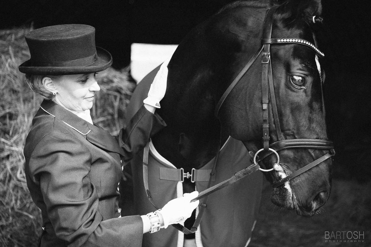 Фотография с лошадью. Конный клуб магнат