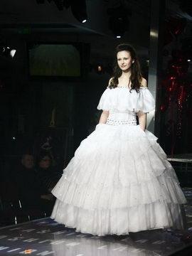 Показы сваденых платьев в Альта Центре. Фотограф Дмитрий Бартош