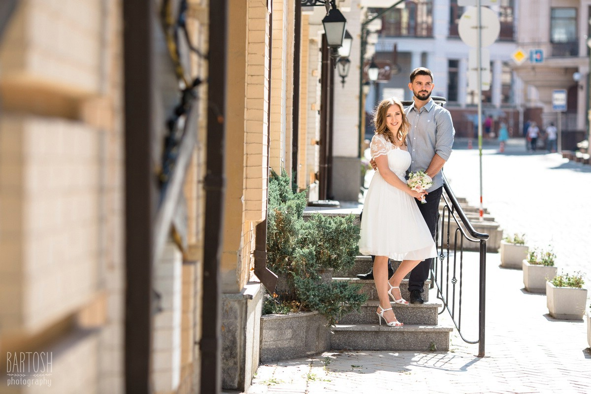 Свадебные фотографии Оксаны и Дмитрия в Киеве. Фотограф на свадьбу
