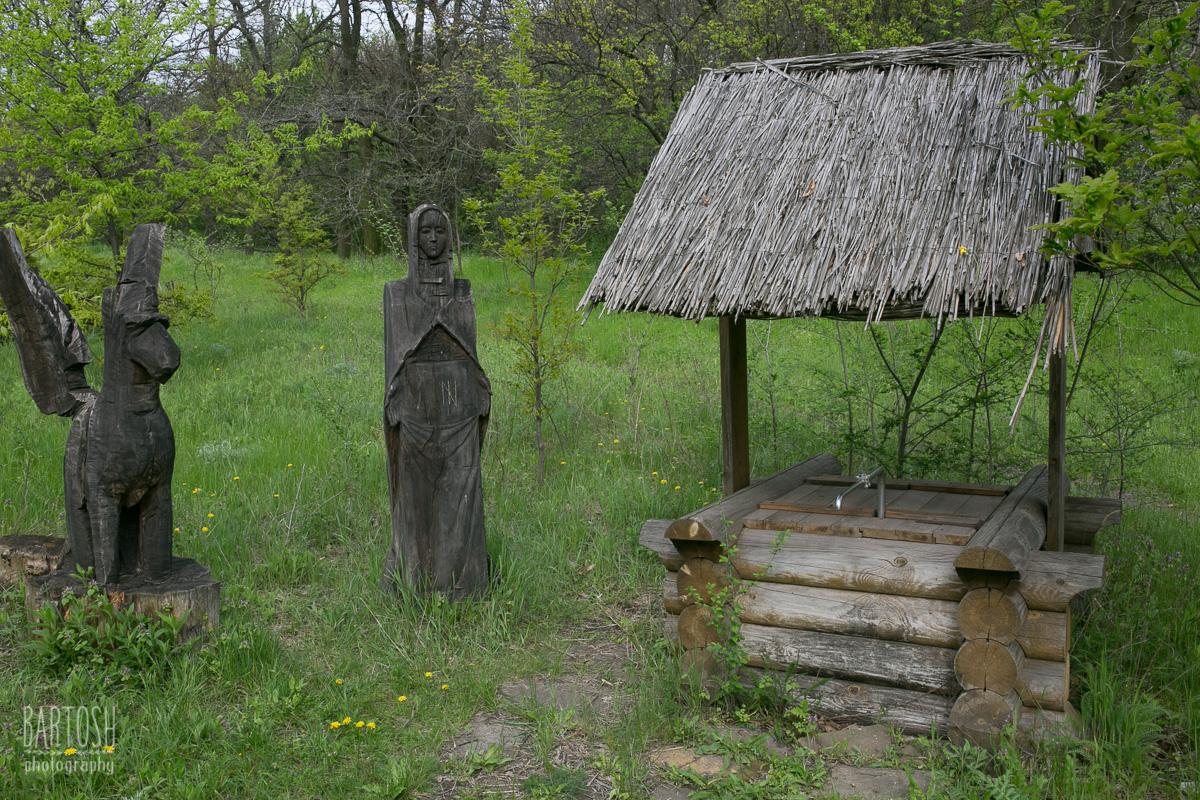 Скифский стан и село Протолче, остров Хортица