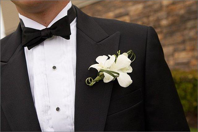Классический галстук бабочка для жениха. Идеи для свадьбы