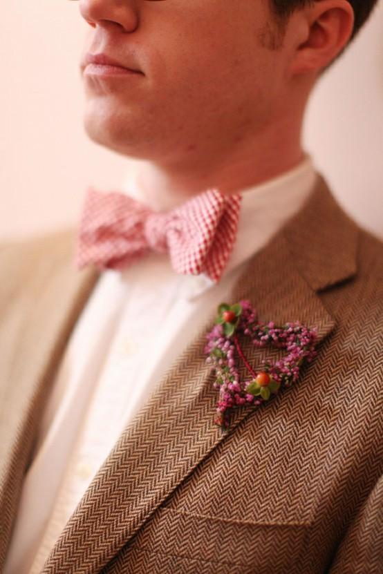 Галстук бабочка для жениха. Идеи для свадьбы