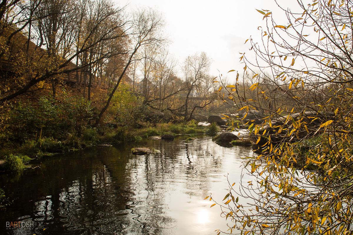 Коростень осенью