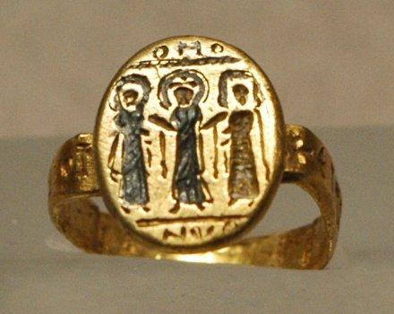 Свадебное кольцо. Кольцо-печать древнеегипетских царей