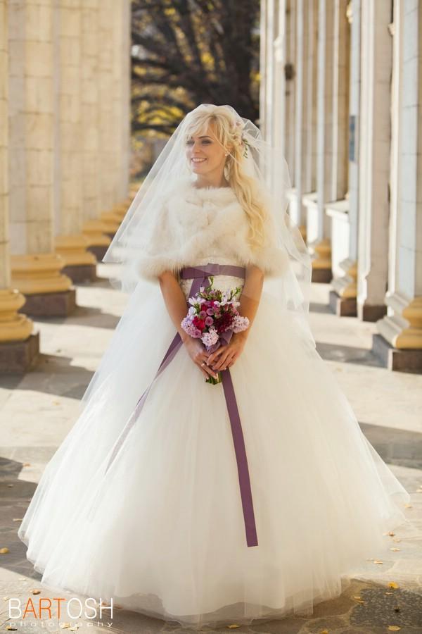 Бальное свадебное платье. Свадебный фотограф Дмитрий Бартош