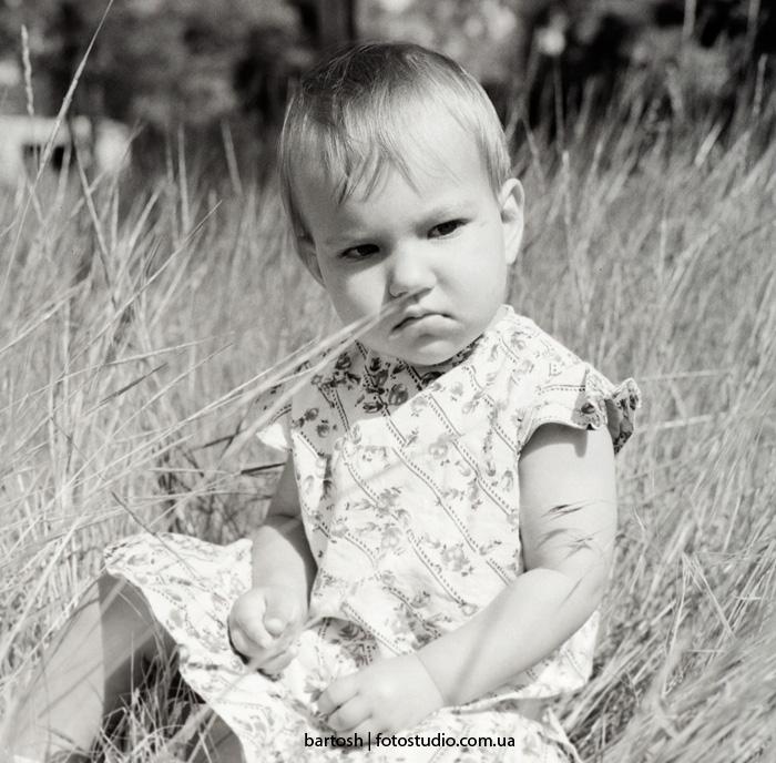 Пленочная детская фотография. Фотограф Дмитрий Бартош
