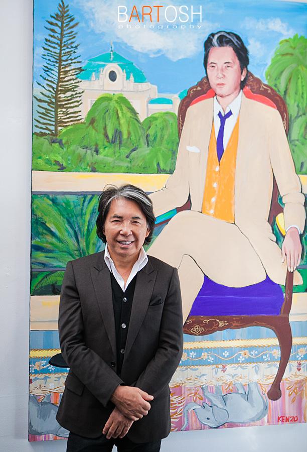 модельер, художник Кензо Такада