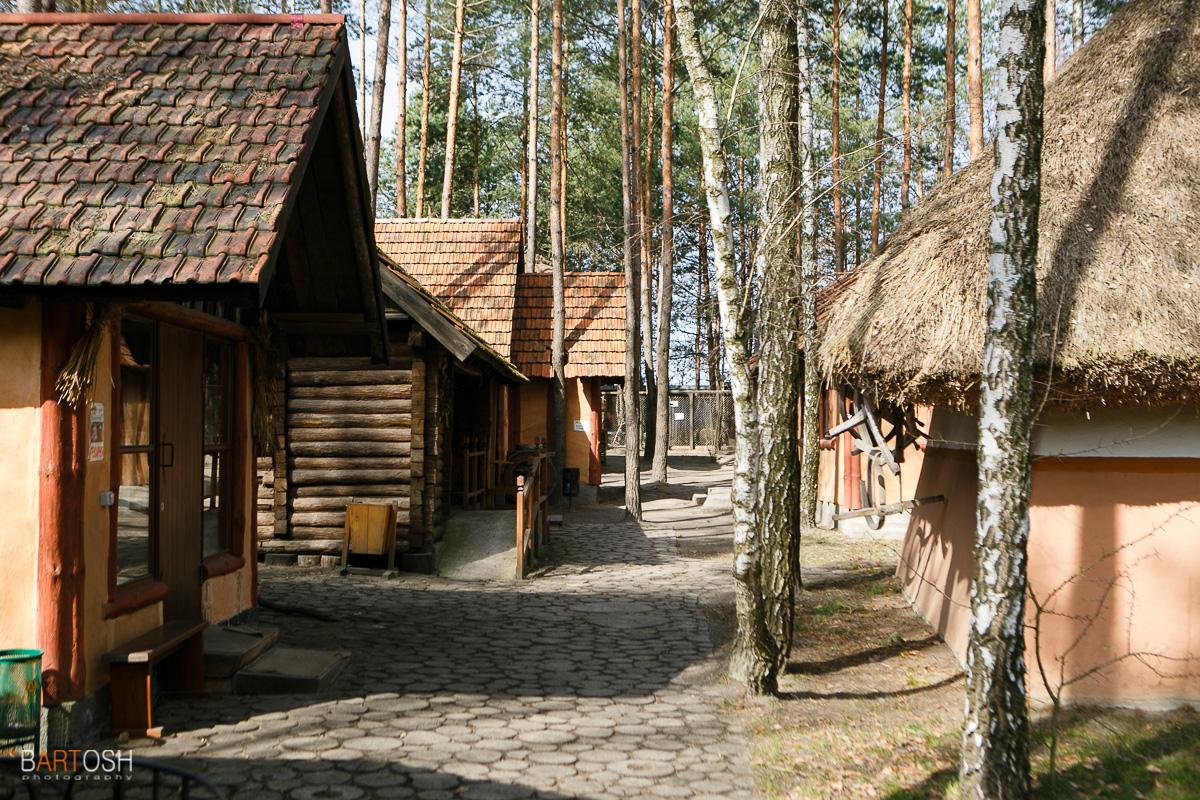 Этно село в селе Бузова, Киевская область