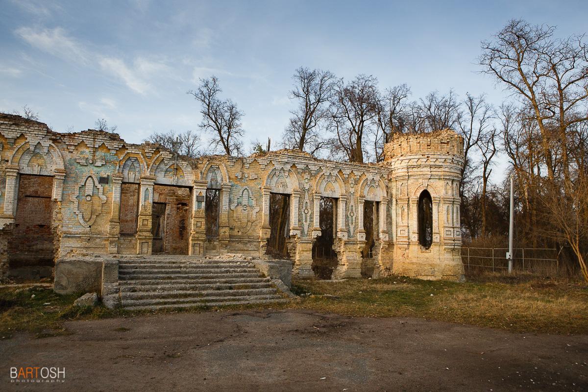 Немешаево. Усадьба Остен Сакена