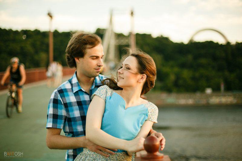 Богдана и Алексей. Предсвадебная фотосъемка истории любви