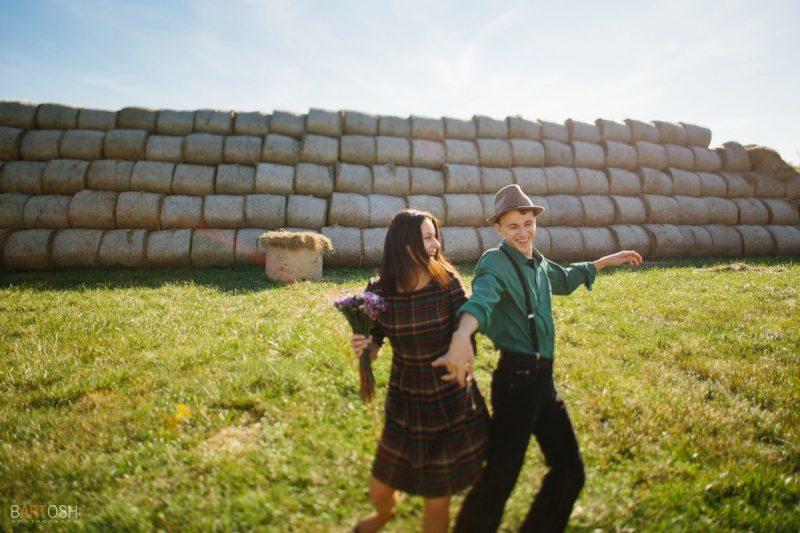 Предсвадебная фотосъемка Галины и Андрея в Киевской области
