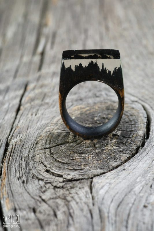 Предметная фотосъемка кольца для Etsy