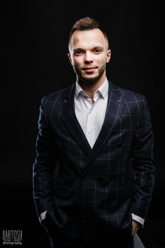 Business portret in studio Kyiv