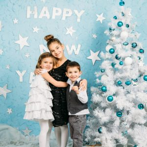 Новогодние фотопроекты