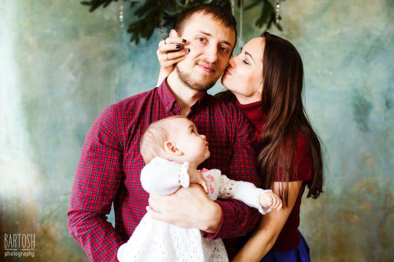 Семейная фотосъемка в студии. Дмитрий Бартош