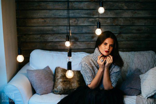 Фотосъемка портрета в студии — Helga
